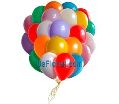 """25 air balloons"" in the online flower shop uaflorist.com"