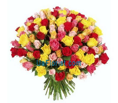 """A large bunch of roses of 101 roses"" in the online flower shop uaflorist.com"