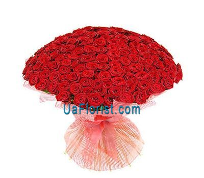 """Bouquet of flowers from 101 roses"" in the online flower shop uaflorist.com"