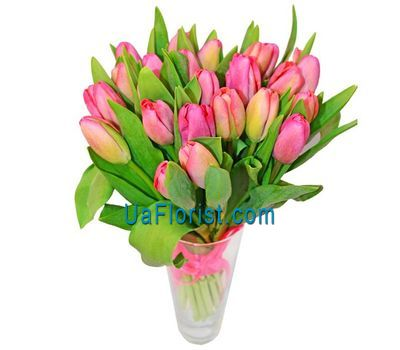 """Bouquet of 25 tulips"" in the online flower shop uaflorist.com"