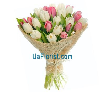 """""""Букет из 31 тюльпана"""" в интернет-магазине цветов uaflorist.com"""