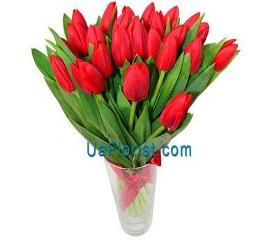"""""""Букет из 29 тюльпанов"""" в интернет-магазине цветов uaflorist.com"""