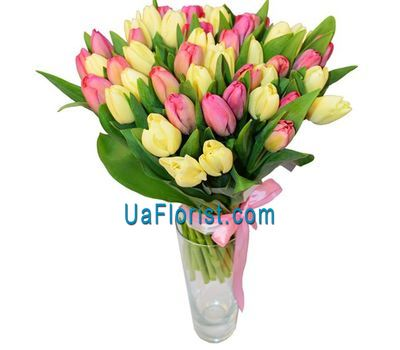 """""""Букет из 51 тюльпана"""" в интернет-магазине цветов uaflorist.com"""