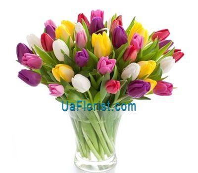 """""""Букет из 61 тюльпана"""" в интернет-магазине цветов uaflorist.com"""