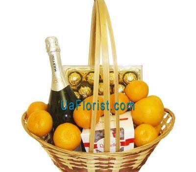 """""""Gift Basket"""" in the online flower shop uaflorist.com"""