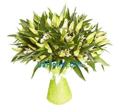 """""""Bouquet of 19 lilies"""" in the online flower shop uaflorist.com"""