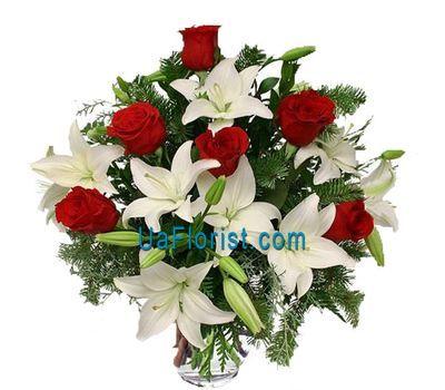 """Bouquet of flowers - Winter garden"" in the online flower shop uaflorist.com"