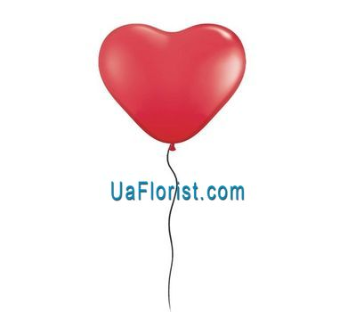 """Ball in the form of a heart"" in the online flower shop uaflorist.com"